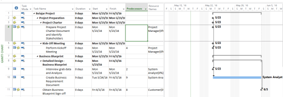 import excel to ms project
